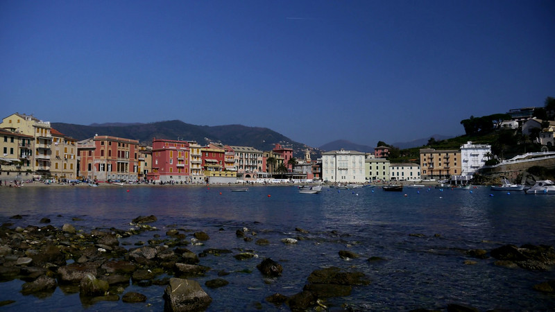 Sestri Levante, time-lapse made on the 6th of March 2011 with a Panasonic GH2, kit lens 14-42 and polarizer filter. One shot every 10 seconds.