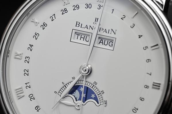 GONE - Blancpain Villeret Moonphase Calendar