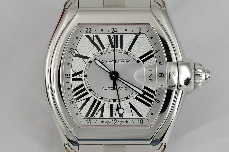 Cartier Roadster GMT