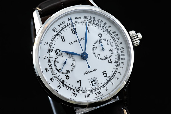 Longines Heritage Column Wheel Chronograph Monopusher