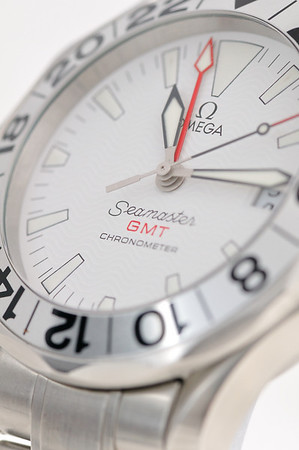 GONE - Omega Seamaster GMT (Great White)