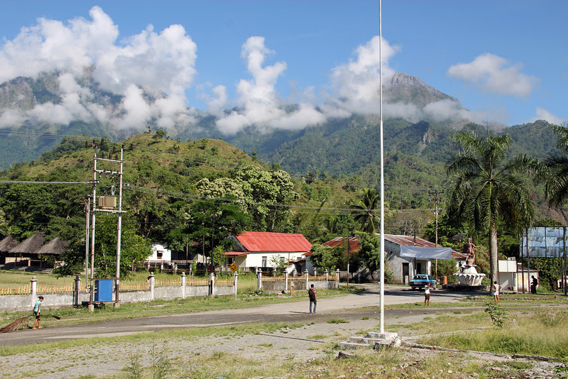 nularan (town) in the mountains in manufahi district