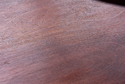 Underside core grain, note the swirls