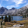 rae lakes, with glen pass in background