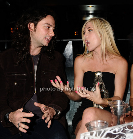 Constantine Maroulis, Tinsley Mortimer <br /> photo by Rob Rich © 2009 robwayne1@aol.com 516-676-3939<br /> photo by  Rob Rich © 2009 robwayne1@aol.com 516-676-3939