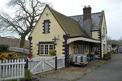Titley Junction Station.