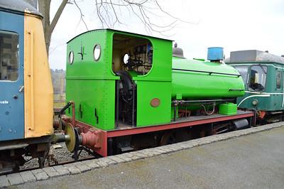 0-4-0ST No6 (1378) 'Percy'.