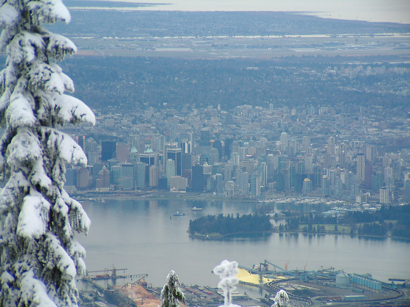 Vancouver from Grouse Mountain