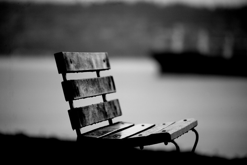 Bench at 2nd Beach