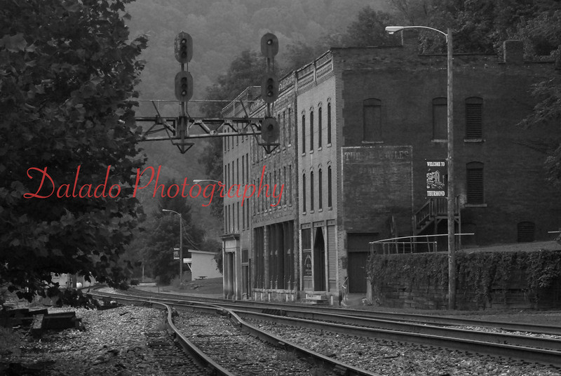 Thurmond, West Virginia- A town of five people, according to 2010 census. During the days of coal mining this town thrived with business.