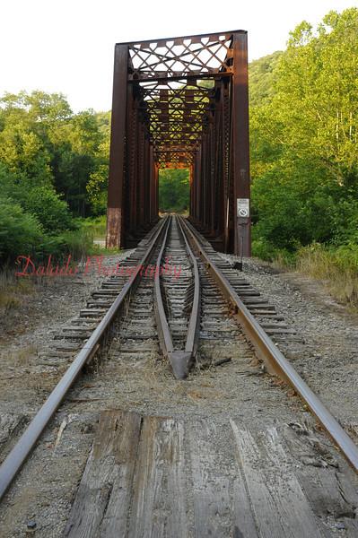 An interesting bridge in the back roads of western Pa.