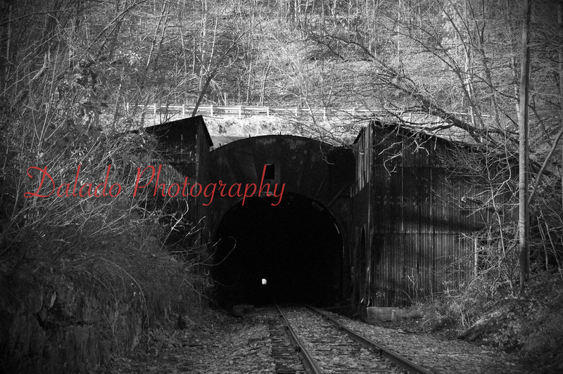 Mahanoy Tunnel- An active railroad tunnel that travels one-half mile under Route 54 and Broad Mountain.