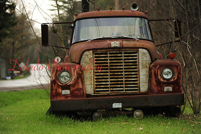 A 1966 International Harvester truck on Rt. 42 between Buckhorn and Millville.