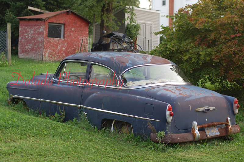 A 1950s Chrysler in Coal Township.