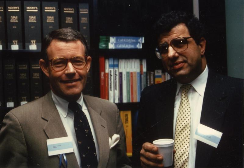 Phil Greene (Ebsco) and James Matarazzo