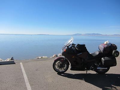Great Salt Lake, northern end.