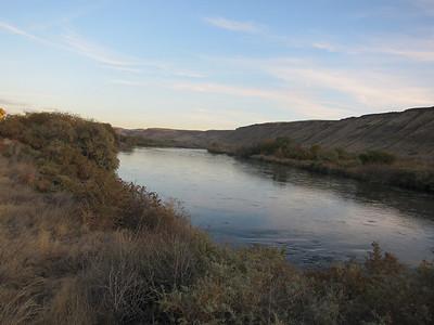 Snake River, near Bruneau, ID