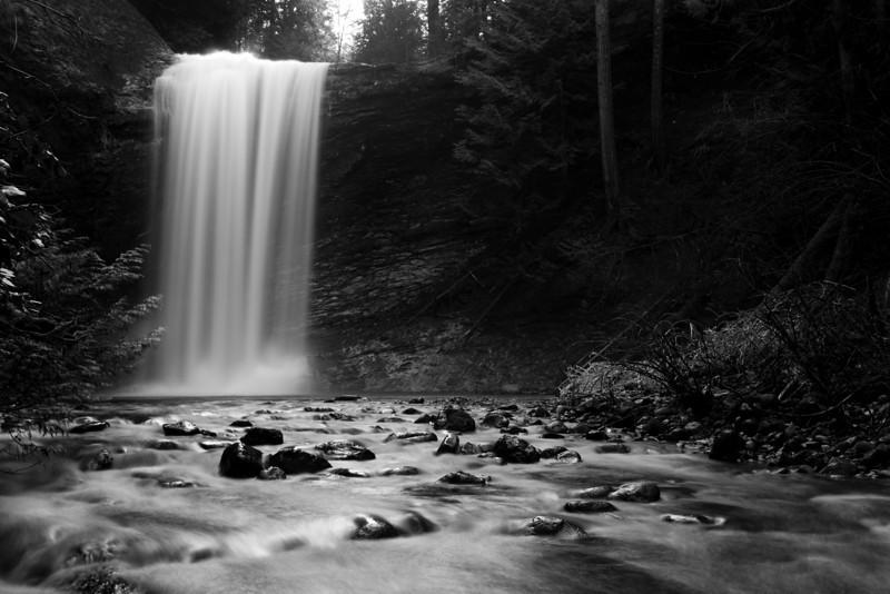 Ammonite falls, Nanaimo