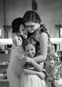 Girl Hug bw (1 of 1)