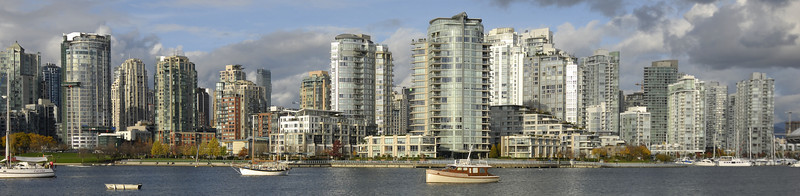 South Shore Seawalk, False Creek, Vancouver, BC