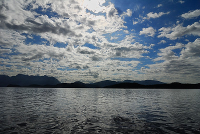 Spectacular afternoon in Desolation Sound, looking towards Mink Island