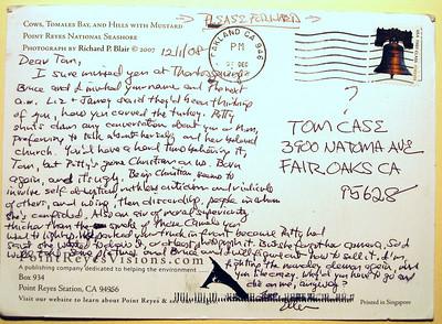 Tom Case letter