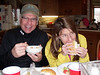 John loves the soup; Susie loves everything.