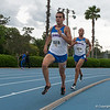 Florida won 1st and 2nd places at Men's 3000m during the Tom Jones Memorial Classic on Saturday, April 21, 2012 at the Percy Beards Track at James G. Pressly Stadium in Gainesville, Fla. / Gator Country photo by Saj Guevara