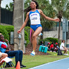 Florida finished 6th, 8th and 12 place at the Women's Long Jump during the Tom Jones Memorial Classic on Saturday, April 21, 2012 at the Percy Beards Track at James G. Pressly Stadium in Gainesville, Fla. / Gator Country photo by Saj Guevara