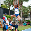 Florida Ciarra Brewer finished 6th, place at the Women's Long Jump during the Tom Jones Memorial Classic on Saturday, April 21, 2012 at the Percy Beards Track at James G. Pressly Stadium in Gainesville, Fla. / Gator Country photo by Saj Guevara