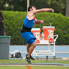 Florida David Triassi finished 4th place at Men's Discus during the Tom Jones Memorial Classic on Saturday, April 21, 2012 at the Percy Beards Track at James G. Pressly Stadium in Gainesville, Fla. / Gator Country photo by Saj Guevara