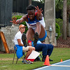 Florida Daniela Griffin finished 8th at the Women's Long Jump during the Tom Jones Memorial Classic on Saturday, April 21, 2012 at the Percy Beards Track at James G. Pressly Stadium in Gainesville, Fla. / Gator Country photo by Saj Guevara