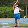 Florida David Levin finished 5th place at Men's Discus during the Tom Jones Memorial Classic on Saturday, April 21, 2012 at the Percy Beards Track at James G. Pressly Stadium in Gainesville, Fla. / Gator Country photo by Saj Guevara