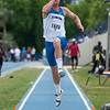 Florida Josh Pederson 6th place at the Men's Long Jump during the Tom Jones Memorial Classic on Saturday, April 21, 2012 at the Percy Beards Track at James G. Pressly Stadium in Gainesville, Fla. / Gator Country photo by Saj Guevara