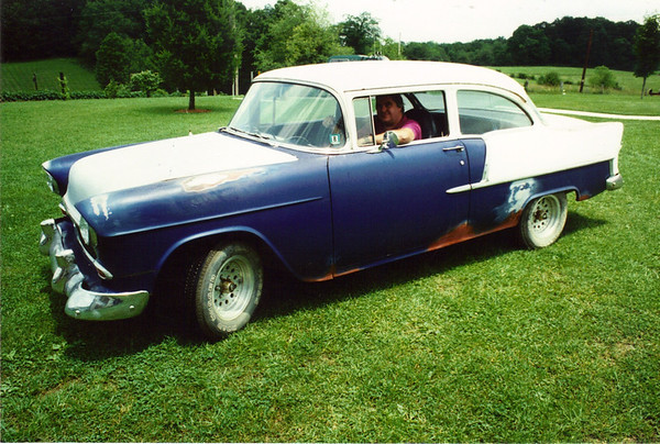 Tom Lane's 55 Chevy