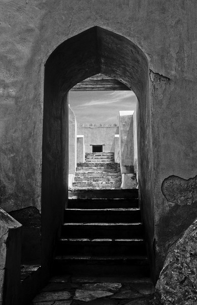 Doorway, Nakhl Fort. Oman
