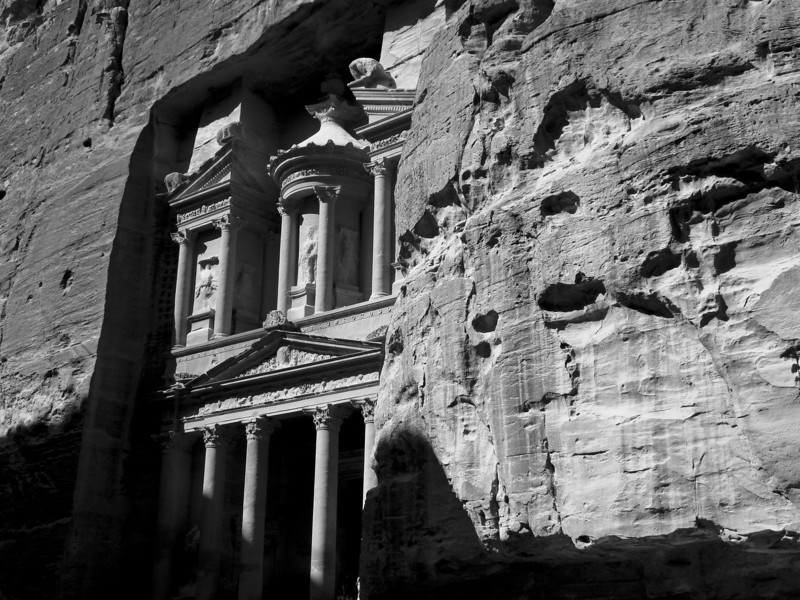 The 'Treasury'. Petra, Jordan