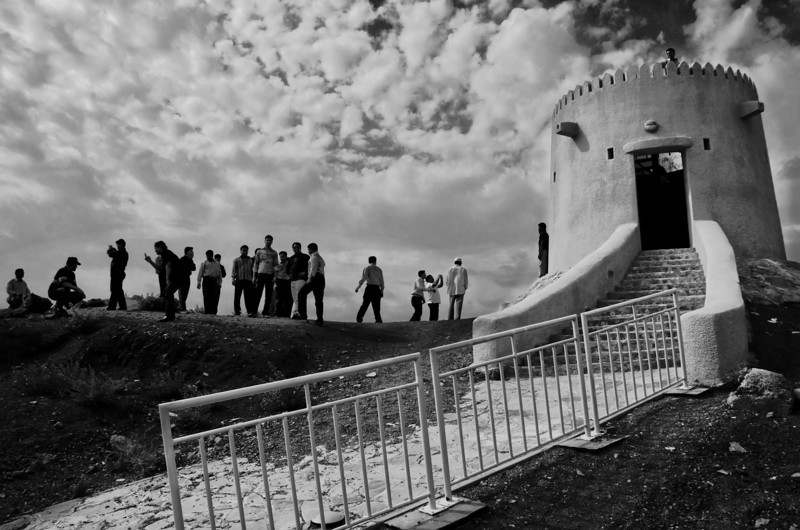 Saturday afternoon cellphone photographs at the Hill Park watch tower. Hatta, United Arab Emirates.