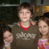 Evrett, Gracie and their cousin Lexie (on the right)...at Evrett's party. Can't believe he's 10!!!