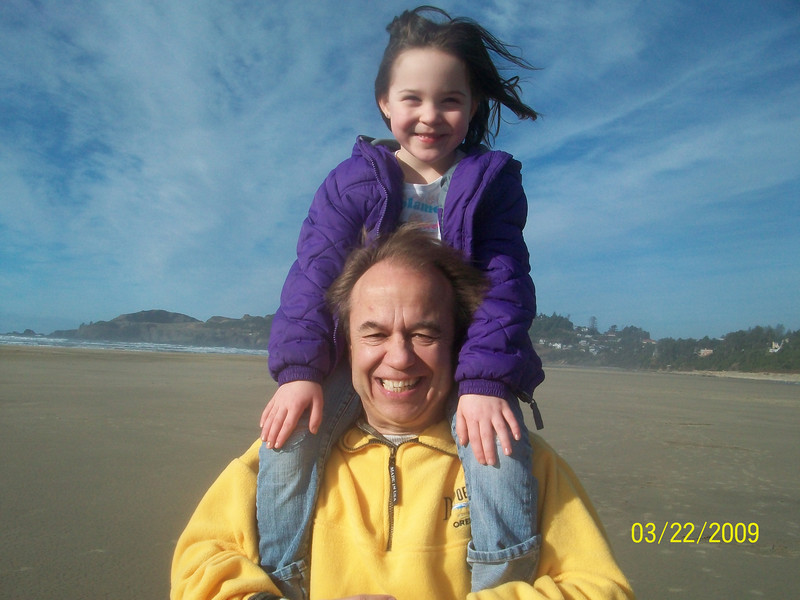 This is taken a week before Evett's party. Took the kids to the beach and had a great time.