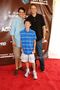 Ralph Macchio, Daniel Macchio, Tony Hawk