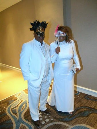 Tonya's All White Milestone Masquerade Party