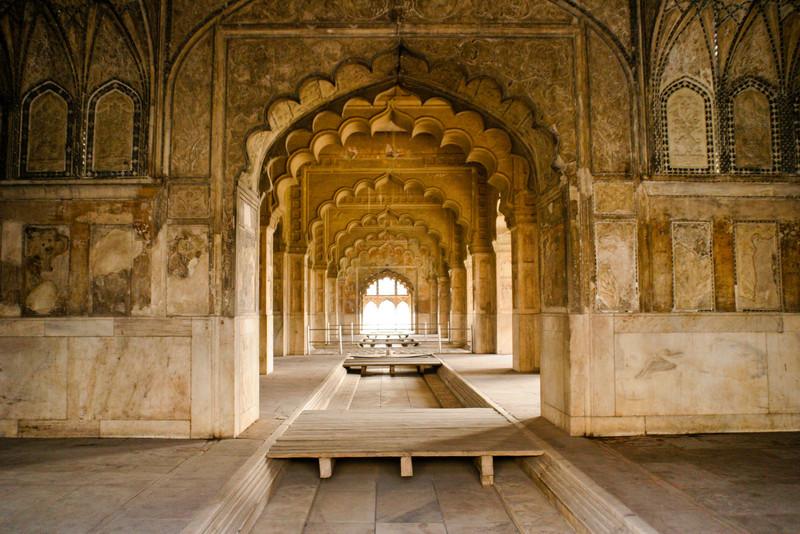 Red Fort, Delhi, India.