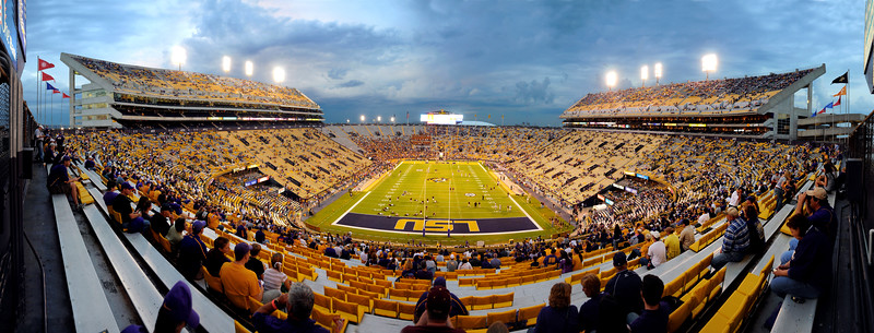 180 Degrees of Death Valley Tiger Stadium_Panorama1