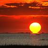 Hour glass sunset - Galveston, Tx