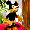 Steiff Mickey with Topaz applied