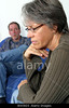 m546, TA14.12 Middle aged couple going through a divorce<br /> Choice 5 of 6<br /> <br /> BWJ603 Woman frustrated with man at home