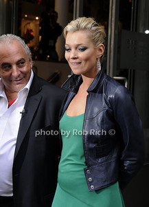 Sir Phillip Green, Kate Moss photo by Rob Rich © 2009 robwayne1@aol.com 516-676-3939