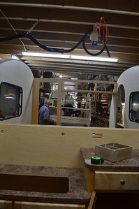 Some interior framing shots.