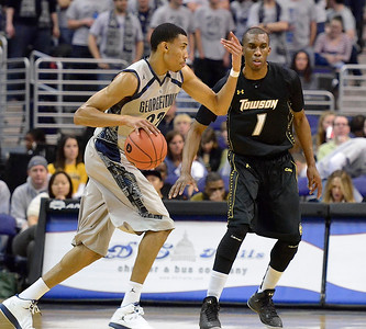 Georgetown's Otto Porter Jr. and Towson's Marcus Damas